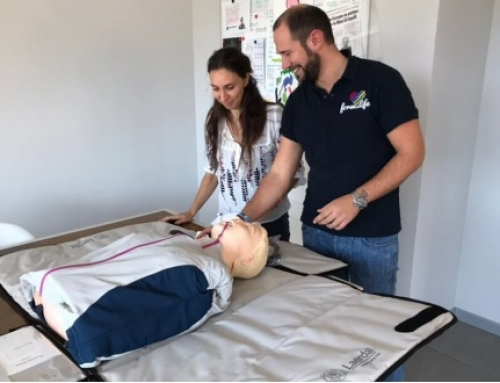 Donation of  Hi-tech life saving manikin