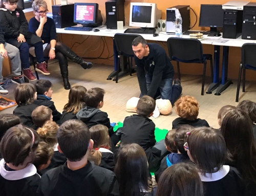 "First-aid course for the student of the Primary school ""Giuseppe Tosa"""